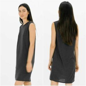 Everlane The Luxe Drape Muscle Tank Dress